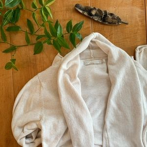 Prana Cozy Oatmeal/Cream Sweater